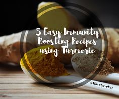 5 Easy Immunity Boosting Recipes using Turmeric Powder Healthy Options, Healthy Tips, How To Stay Healthy, Healthy Recipes, Easy Recipes, Healthy Food, Health And Fitness Tips, Health And Wellbeing, Fresh Tumeric Recipes