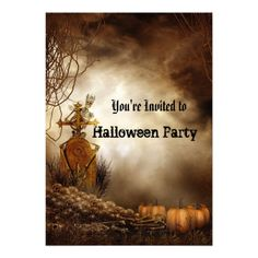 Shop Halloween Party Invitation created by aquachild. Colored Envelopes, White Envelopes, Halloween Party Invitations, Photoshop Photos, Halloween Design, Party Shop, Photo Effects, Youre Invited, Custom Invitations