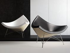Vitra's Coconut chair is so timelessly beautiful. Can you imagine that this piece was originally introduced 1955.
