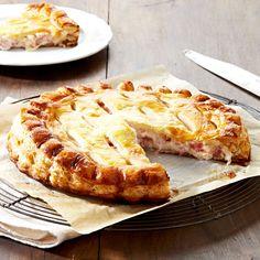 Découvrez la recette de la tourte jambon-fromage