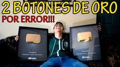 YouTube me manda 2 botones de ORO por error!!!