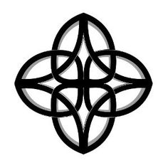 Knot - Signifying oak roots, symbol of inner strength.Dara Celtic Knot - Signifying oak roots, symbol of inner strength.Celtic Knot - Signifying oak roots, symbol of inner strength.Dara Celtic Knot - Signifying oak roots, symbol of inner strength. Celtic Symbols And Meanings, Celtic Tattoo Symbols, Celtic Knot Tattoo, Celtic Tattoos, Celtic Knots, Viking Symbols, Gaelic Symbols, Wiccan Tattoos, Mayan Symbols