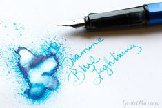 Hey guys, it's Jenni here and you are in for a real treat this week! When the Diamine Shimmertastic inks […] Plastic Vials, Goulet Pens, Pen Pals, Fountain Pen Ink, Pen And Paper, In Writing, Jenni, Things To Know, Lightning