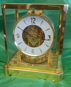 Rare Vintage Jaeger-LeCoultre Atmos 15 Jewel Mantle Clock Working Excellent!   Collectibles, Clocks, Vintage (1930-69)   eBay!