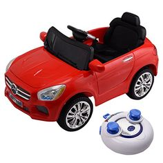 Tangkula Kids 6V Electric Ride On Toy Car with Remote Control Red Light MP3 >>> Be sure to check out this awesome product.Note:It is affiliate link to Amazon.