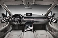 L'Audi Q7 2016 plus svelte - interiore