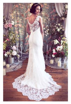 Vneck-alencon-lace-cap-sleeve-mermaid-sheath-schone A.jpg
