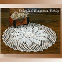 Spiraled Elegance Doily - Free Crochet Doily Patterns by Crochet Memories via Saturday Link Party 7 - Rebeckah's Treasures