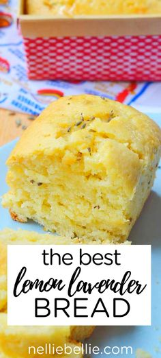 This lemon bread is infused with lavender for the BEST quick bread. Full of yummy lemon flavor and fragrant lavender, this is an easy recipe that is perfect for spring and summer. bread recipe the BEST Lemon Lavender Bread Lavender Recipes, Lemon Recipes, Lavender Tea Bread Recipe, Quick Bread Recipes, Baking Recipes, Easy Summer Meals, Easy Meals, Lemon Bread, Summer Dessert Recipes