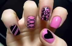 Nail Designs For Short Nails step by step