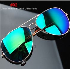 aviator colors  Fly By Night Gold and Pink Mirrored Aviator Sunglasses
