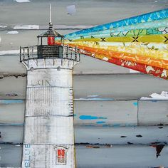 Art by Danny using recycled magazines ...Twitter / AnnieDoodlebugz: