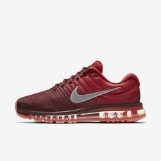 timeless design 18403 97b2c SZ.15 Nike Air Max 2017 849559-601 NightMaroonWhite.GymRed Nike