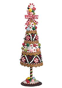 gingerbread topiary its like a gingerbread house but prettier make a pretty tree for your holiday decor instead learn more christmas artificial trees - Gingerbread Christmas Decorations