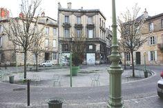 Bordeaux, France Place Mitchell près du jardin public