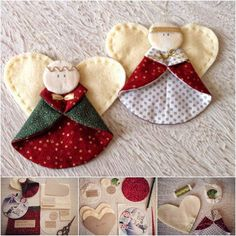 Creative-Ideas-DIY-Fabric-Angel-Christmas-Ornaments