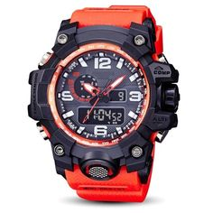 SBAO Watch LED Men Waterproof Sports Watches Shock Digital Electronic Features: Brand new High Quality Fashion Sports style Life Waterproof Alarm function Date and Time Stopwatch timing Luminous display Long-life battery Package Content: 1 x Sports Watch Sport Watches, Watches For Men, Wrist Watches, Men's Watches, Smartwatch, Waterproof Sports Watch, Lead Men, Black Quartz, Extreme Sports