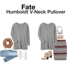 """""""Humboldt V-Neck Pullover"""" by hanger731x on Polyvore"""