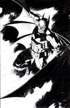 Batman In Black by thepunisherone.deviantart.com on @DeviantArt