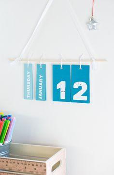 DIY un calendrier perpetuel