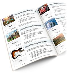 auction booklet template build your own charity auction catalog template booklet template brochure template