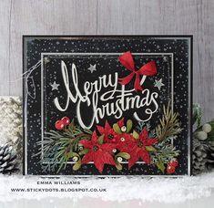That's Life: Christmas starts here. Christmas Card Crafts, Christmas Cards To Make, Christmas Tag, Xmas Cards, Handmade Christmas, Christmas 2019, Christmas Ideas, Christmas Inspiration, Holiday Cards