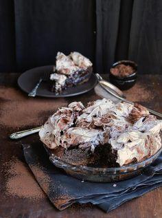 Chocolate meringue pie.