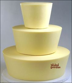 How To: Taper Cake Tiers