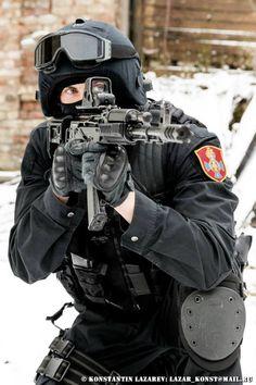 Russian MVD Specnaz