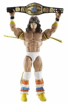 WWE Legends Ultimate Warrior Collector Figure Series #4 by Mattel. $22.99. An absolute must have for all WWE Collectors. Offers extreme articulation, unparalleled detail, and amazing accuracy. Featuring never-before-seen classic WWE Superstars. Capturing 50 years of WWE's rich and exciting heritage. Reignite your love and passion for these historical WWE Superstar Legends. World Wrestling Entertainment Legends Figure Collection Series #4: Collectors and WWE fans...