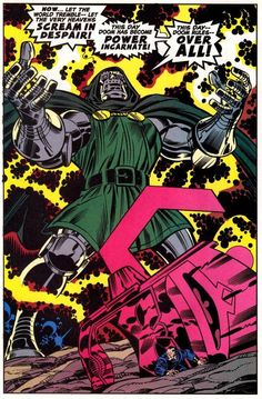 This day Doom has become Power Incarnate!
