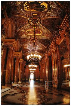 Would love to go here someday! Paris Opera