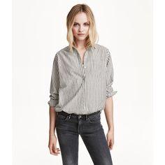 H&M Cotton shirt ($23) via Polyvore