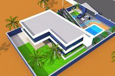 Projet de construction dune villa ultra Moderne a Bamako au Mali, Bamako, Albert Kwessi