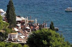 Hula Hula Beach Bar, Hvar Croatia. Another top beach bar in the world - been there and it really is superfun and beautiful sunset!