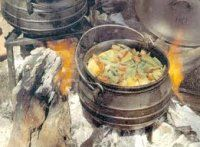 Potjiekos is a traditional way of cooking on an open fire in South Africa, and so you will find it very easy to find a good South African BBQ recipe f Braai Recipes, Biltong, Good Food, Yummy Food, South African Recipes, Afrikaans, Street Food, Food And Drink, Favorite Recipes