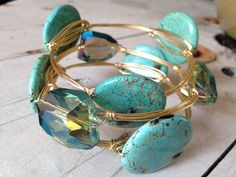How To: Make Wire Bangles with Wraps - Art & Soul Learn To make these trending bangles with stylish and supportive wraps.