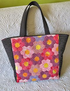 Pretty hexagon bag