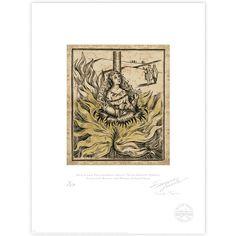 New Salem Philantropic Society Witch Burning Woodcut II - MinaLima Store