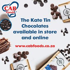 If you haven't heard of The Kate Tin's Chocolate, then what are you even doing? These little drops of chocolate goodness are locally made and perfect for adding pockets of rich, dark chocolate into your bakes. They are dairy-free, gluten-free, preservative-free, suitable for vegans, and made from sustainably sourced ingredients.  How to use: Stir chocolate chips into cookie, cake, or brownie batter, sprinkle them over cupcakes! They're vegan, dairy-free, gluten-free, preservative-free.