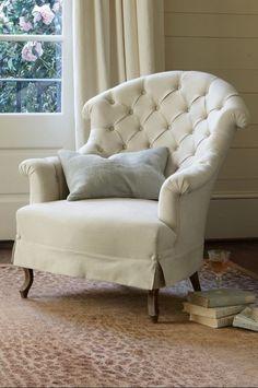 Avignon Tufted Back Chair from Soft Surroundings