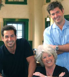 Paula Deen and Sons.... Really just the sons.