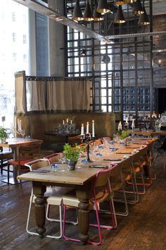 The Refinery Restaurant | Bankside Venues London