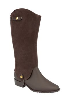 This waterproof vegan duo can be worn tall as a riding boot or short as a Chelsea boot. Great for travel, small closets, or anyone who just loves having options, this boot is malleable, hypoallergenic, neutral, natural, and 100% recyclable.
