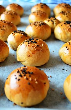 Cotton soft buns. Perfect for making sandwich! With step by step pictures.