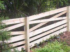 Estate Fence, Crossbuck (Cross-buck) Fence or Horse Fence or Ranch Fence or Corral Fence