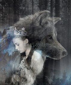 Sansa and Lady.