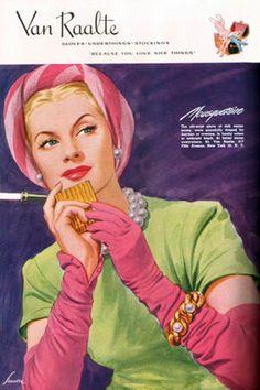 Van Raalte Gloves 1945
