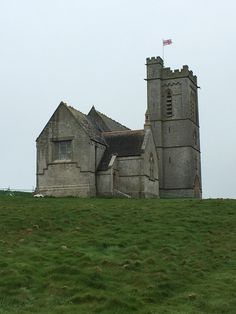 Lundy Island in late Spring - the church