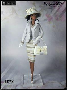 Tenue Outfit Accessoires Pour Fashion Royalty Barbie Silkstone Vintage 1238   eBay